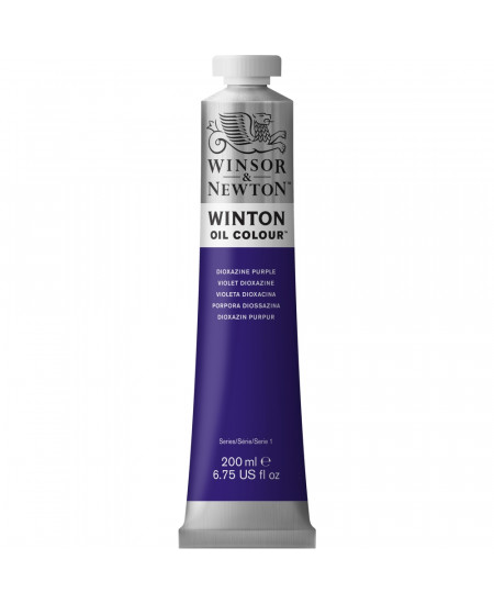 Tinta Óleo Winton 200ml Winsor & Newton 229 Dioxazine Purple