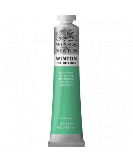 Tinta Óleo Winton 200ml Winsor & Newton 241 Emerald Green