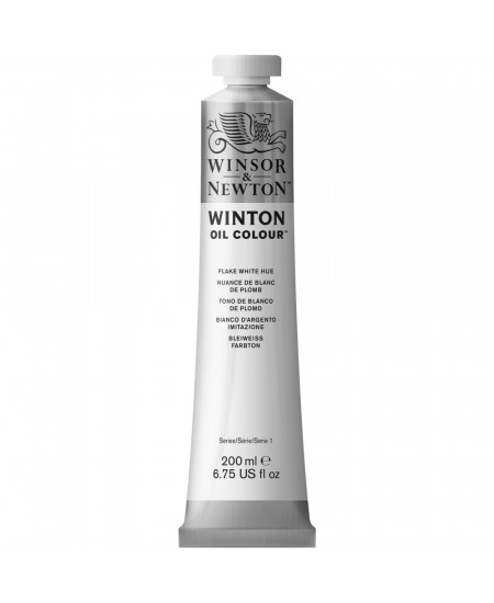 Tinta Óleo Winton 200ml Winsor & Newton 242 Flake White Hue