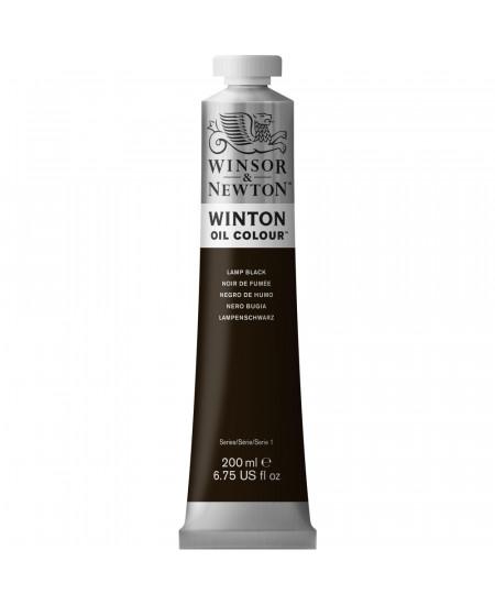 Tinta Óleo Winton 200ml Winsor & Newton 337 Lamp Black