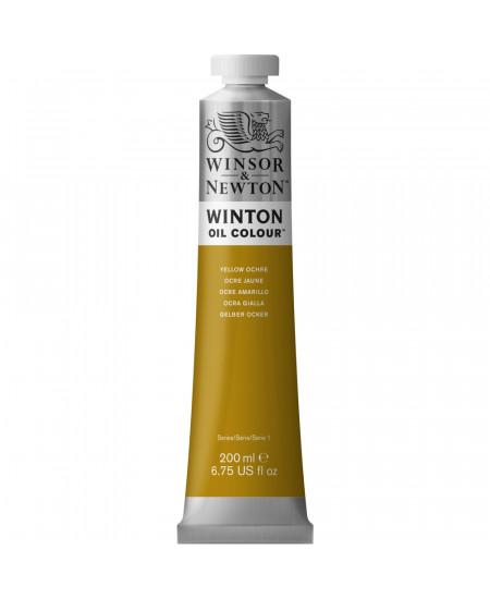 Tinta Óleo Winton 200ml Winsor & Newton 744 Yellow Ochre