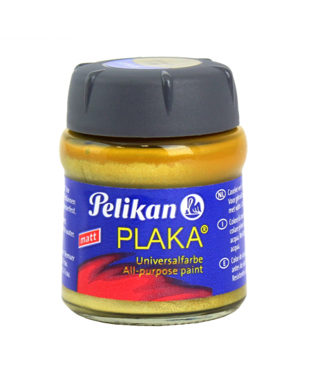 Tinta à Base de Caseína Pelikan Plaka 61 Yellow Gold 50ml
