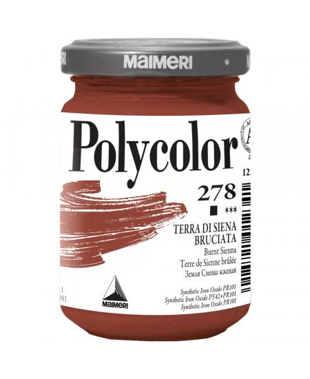 Tinta Acrílica Polycolor Maimeri 140ml 278 Burnt Sienna