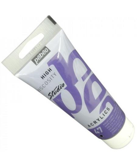 Tinta Acrílica Pébéo Studio  47 Violeta de Cobalto Imit 100ml