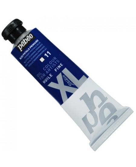 Tinta  a Óleo Pébéo XL Studio 11 Azul Phtalo Primário 37ml