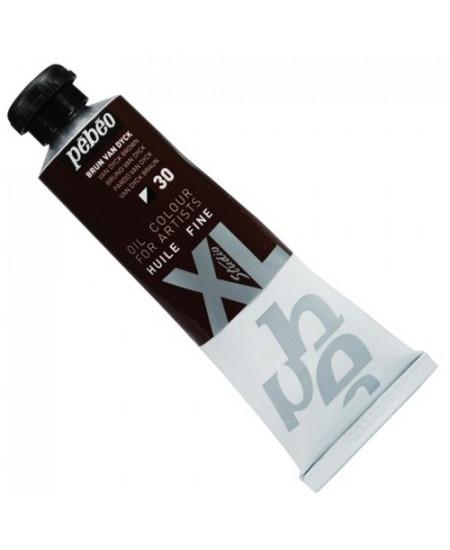 Tinta  a Óleo Pébéo XL Studio 30 Brown Van Dyck 37ml