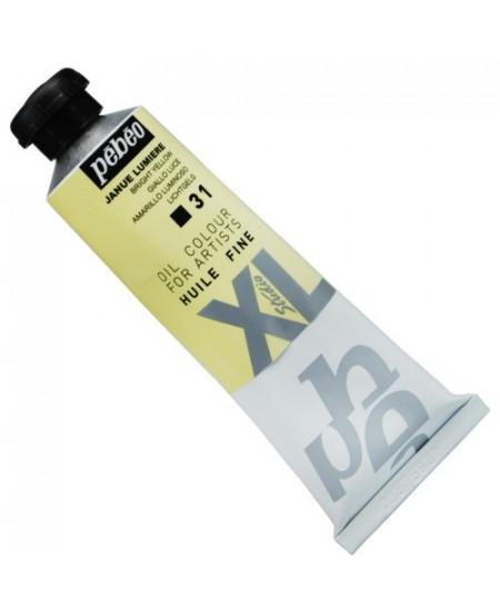 Tinta  a Óleo Pébéo XL Studio 31 Amarelo Luminoso 37ml