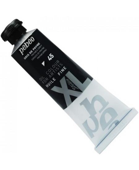 Tinta  a Óleo Pébéo XL Studio 45 Cinza 37ml