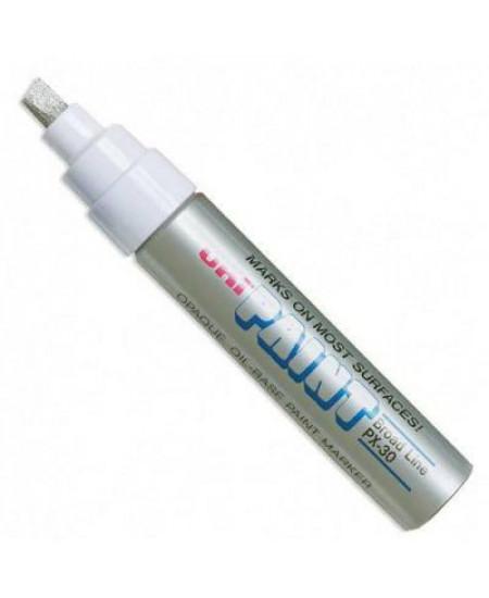 Caneta Permanente Uni-Paint Marker PX-30 Prata