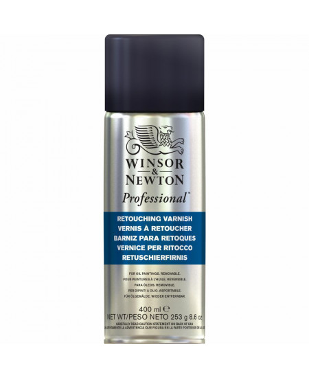 Verniz Spray Para Retoque Winsor & Newton 400ml (Retouching)