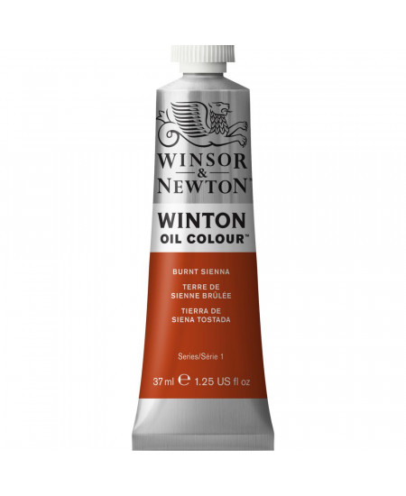 Tinta Óleo Winton 37ml 074 Burnt Sienna