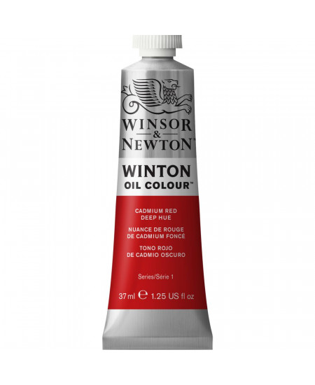 Tinta Óleo Winton 37ml 098 Cadmium Red Deep Hue