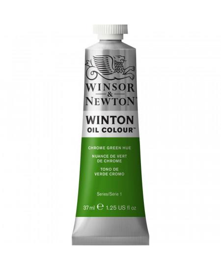Tinta Óleo Winton 37ml Winsor & Newton 145 Chrome Green Hue