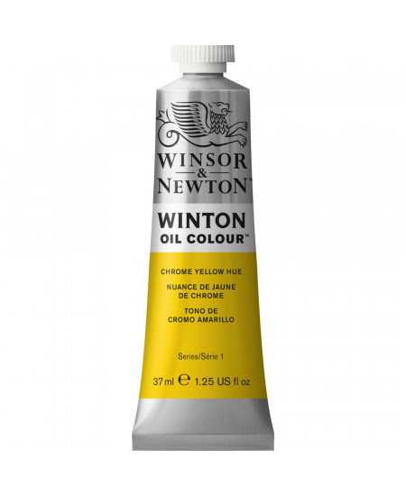 Tinta Óleo Winton 37ml Winsor & Newton 149 Chrome Yellow Hue