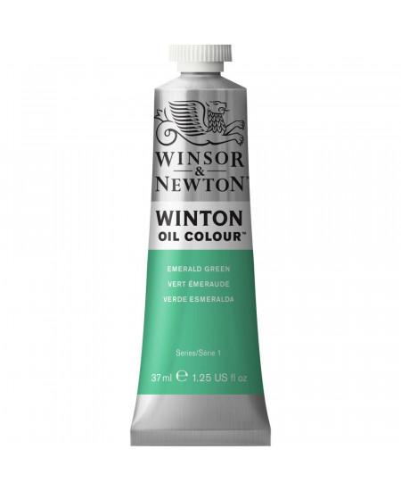 Tinta Óleo Winton 37ml Winsor & Newton 241 Emerald Green