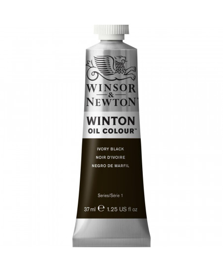 Tinta Óleo Winton 37ml 331 Ivory Black