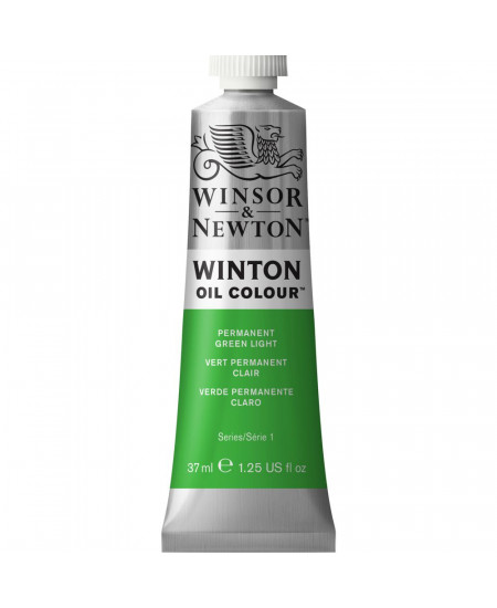 Tinta Óleo Winton 37ml 483 Permanent Green Light