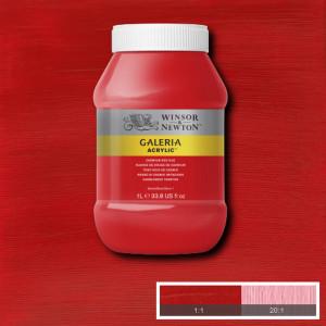Tinta Acrílica Galeria Winsor & Newton 1L 095 Cadmium Red Hue