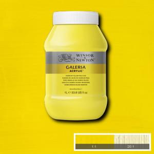 Tinta Acrílica Galeria Winsor & Newton 1L 114 Cadmium Yellow Pale Hue