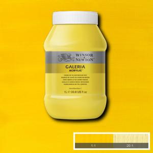Tinta Acrílica Galeria Winsor & Newton 1L 120 Cadmium Yellow Medium Hue