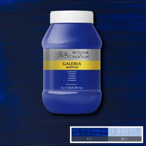 Tinta Acrílica Galeria Winsor & Newton 1L 660 Ultramarine