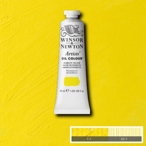 Tinta Óleo Artist 37ml Winsor & Newton S4 025 Bismuth Yellow