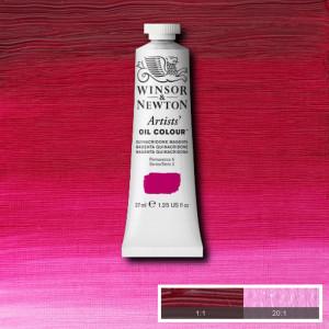 Tinta Óleo Artist 37ml Winsor & Newton S2 545 Quinacridone Magenta