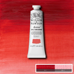 Tinta Óleo Artist 37ml Winsor & Newton S4 548 Quinacridone Red