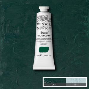 Tinta Óleo Artist 37ml Winsor & Newton S4 183 Cobalt Chromite Green