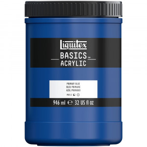 Tinta Acrílica Liquitex Basics 946ml 420 Primary Blue