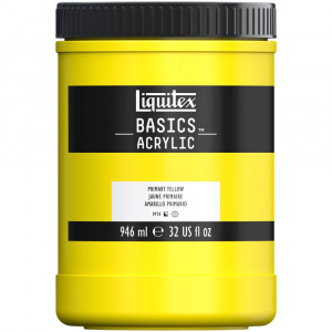 Tinta Acrílica Liquitex Basics 946ml 410 Primary Yellow