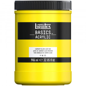 Tinta Acrílica Liquitex Basics 946ml 160 Cadmium Yellow Light
