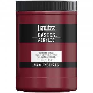 Tinta Acrílica Liquitex Basics 946ml 311 Cadmium Red Deep