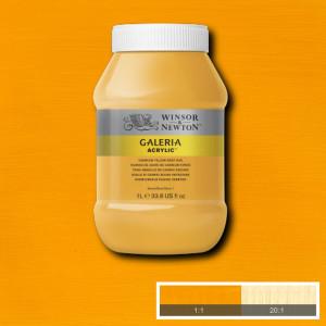 Tinta Acrílica Galeria Winsor & Newton 1L 115 Cadmium Yellow Deep Hue
