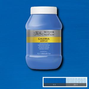 Tinta Acrílica Galeria Winsor & Newton 1L 138 Cerulean Blue Hue