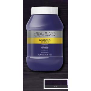Tinta Acrílica Galeria Winsor & Newton 1L 728 Winsor Violet