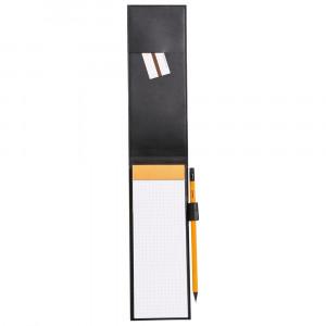 Bloco de Notas Rhodia 8,4x21cm N°8 Capa Couro Preto