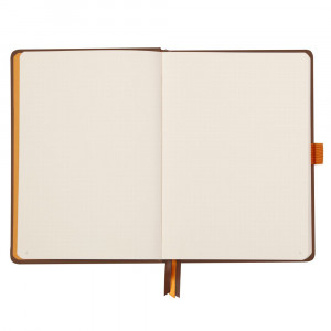 Caderno Goalbook Rhodia A5 Capa Dura Chocolate