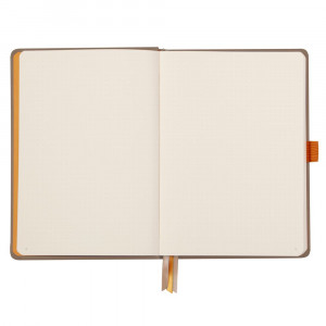 Caderno Goalbook Rhodia A5 Capa Dura Taupe