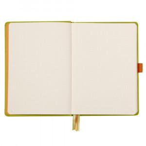 Caderno Goalbook Rhodia A5 Capa Dura Anise