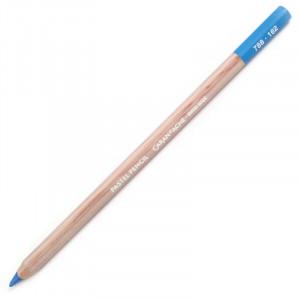 Lápis Pastel Caran D'Ache 162 Phthalocyanine Blue