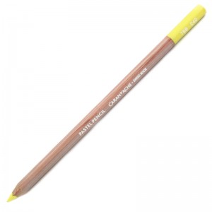 Lápis Pastel Caran D'Ache 240 Lemon Yellow