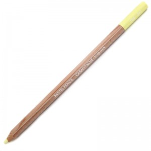 Lápis Pastel Caran D'Ache 241 Light Lemon Yellow