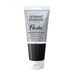 Tinta Acrílica Flashe Lefranc & Bourgeois 80ml S1 265 Black