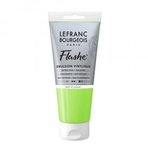 Tinta Acrílica Flashe Lefranc & Bourgeois 80ml S1 554 Bright Green