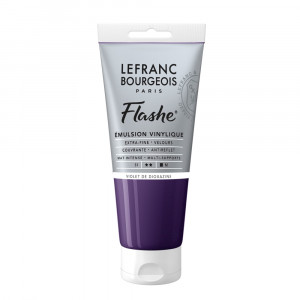 Tinta Acrílica Flashe Lefranc & Bourgeois 80ml S1 473 Dioxazine Violet