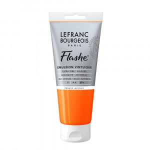 Tinta Acrílica Flashe Lefranc & Bourgeois 80ml S1 476 Japanese Orange