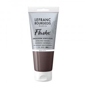 Tinta Acrílica Flashe Lefranc & Bourgeois 80ml S1 107 Sepia Brown