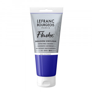 Tinta Acrílica Flashe Lefranc & Bourgeois 80ml S1 043 Ultramarine