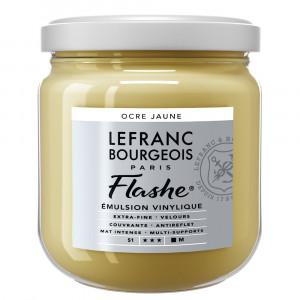 Tinta Acrílica Flashe Lefranc & Bourgeois 400ml S1 302 Yellow Ochre